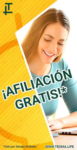 AFILIACIÓN GRATIS - CLICK AQUÍ